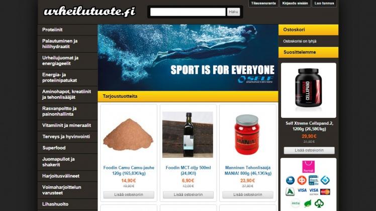 Urheilutuote.fi