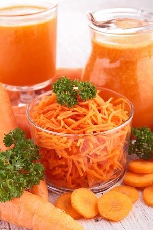 Porkkana on hyvä a-vitamiin lähde